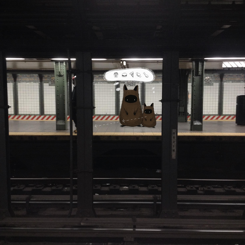 day 22 subway