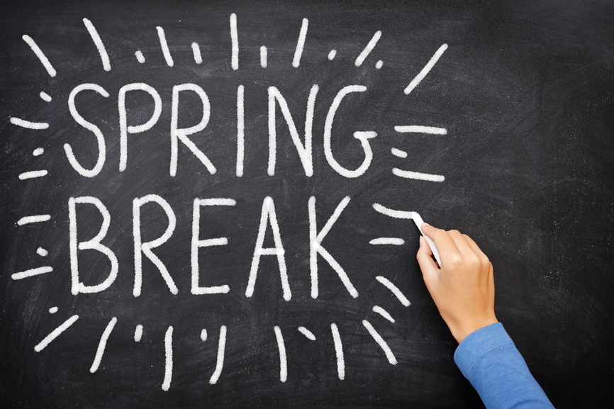 Check Out These Spring Break Home Maintenance Items from Castle Doctor in Plano, Texas!