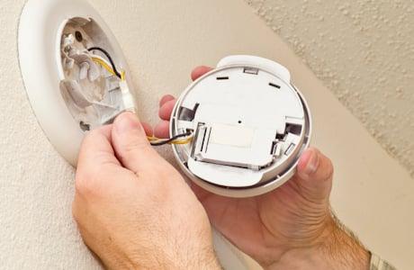 carbon monoxide detector installation plano
