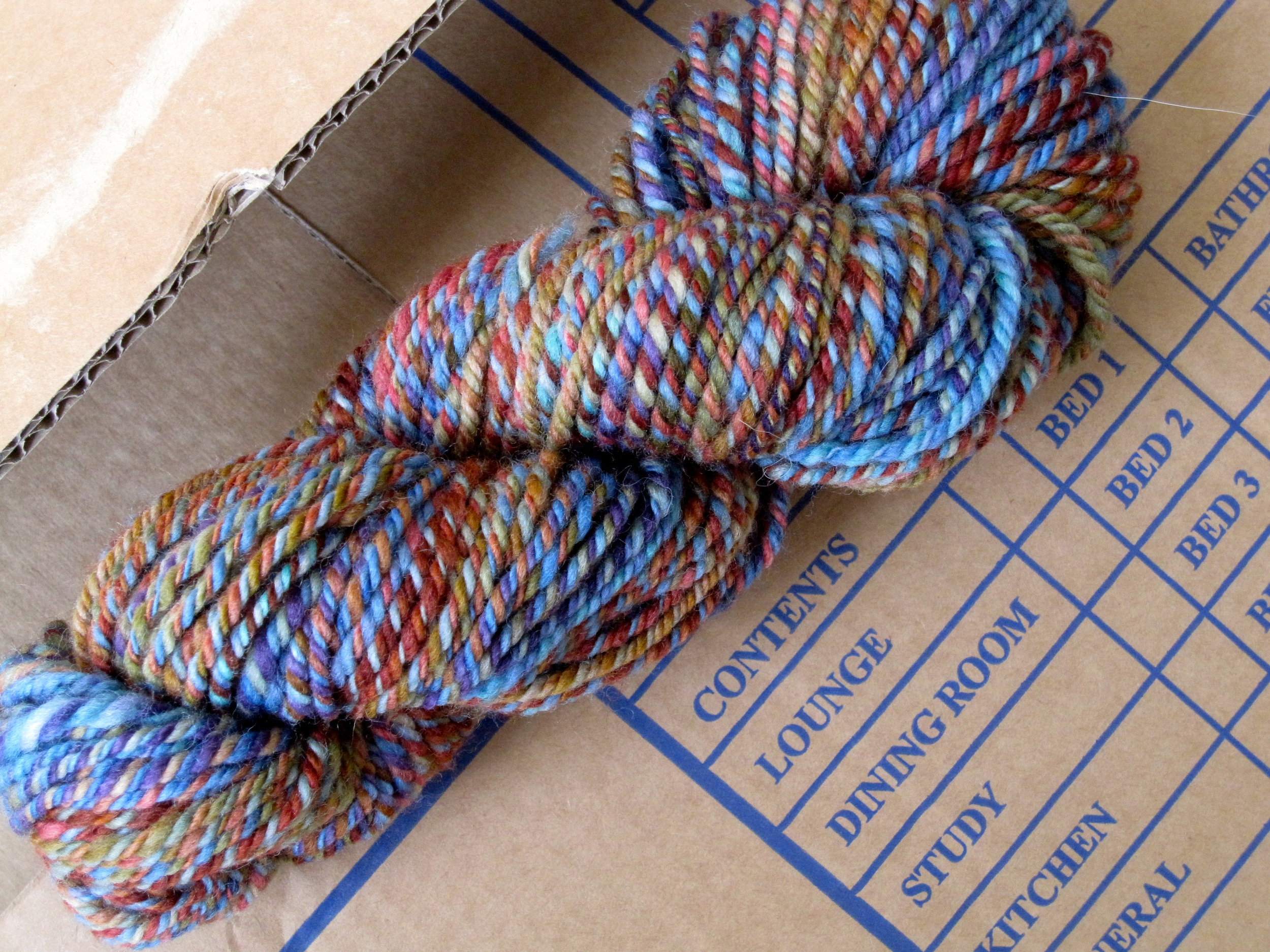 More handspun goodness.
