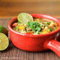 Cilantro Coconut Quinoa Seafood Stew