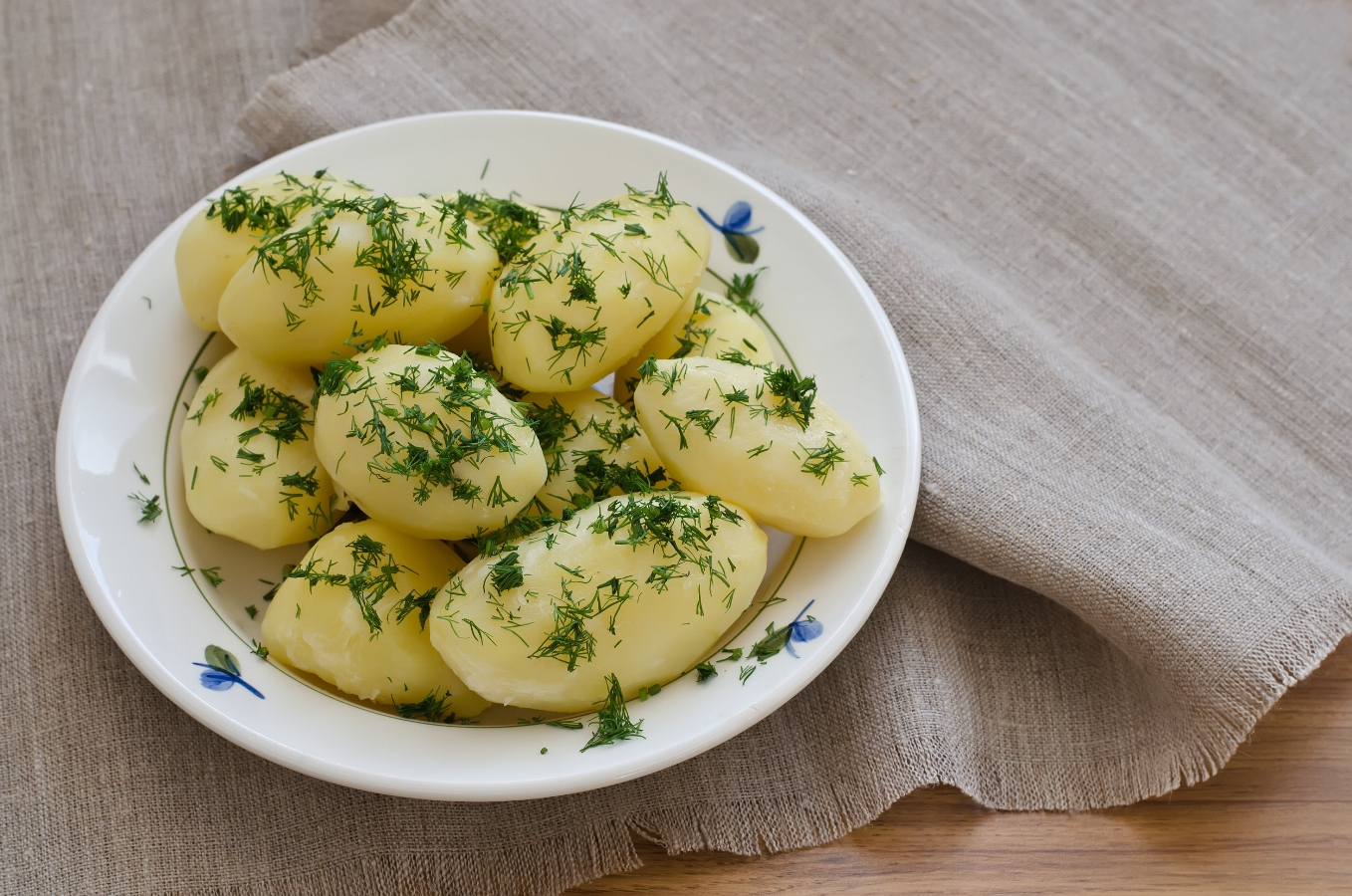 Not Your Average Boiled Potatoes
