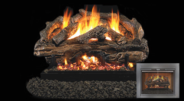 """Charred Aged Split   Available  in 18"""", 24"""" and 30"""" sizes"""
