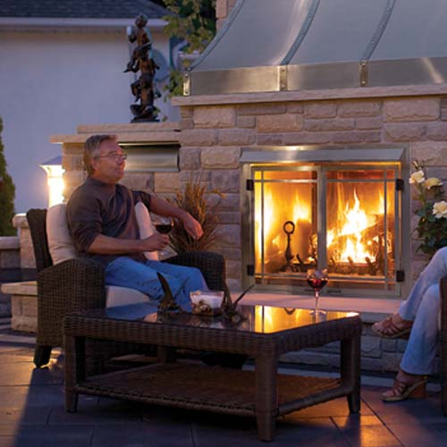 Napoleon GSS42 Gas Outdoor Fireplace