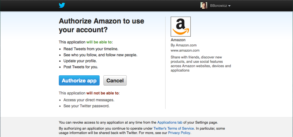 Amazon Authorize