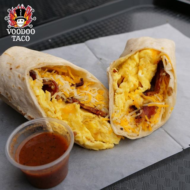 Did you know that our burritos are a complete meal? That means you can have one for breakfast, lunch, and dinner every single day. Don't look that up and don't tell on us either. We'll bribe you with $1 off your burritos all day for Burrito Wednesday!
