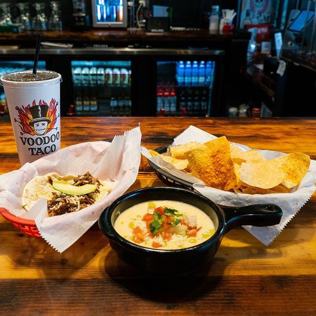 How about spending the weekend with tacos and queso? Eat as much as you can before Monday morning rolls around again. We won't judge, promise! 😁