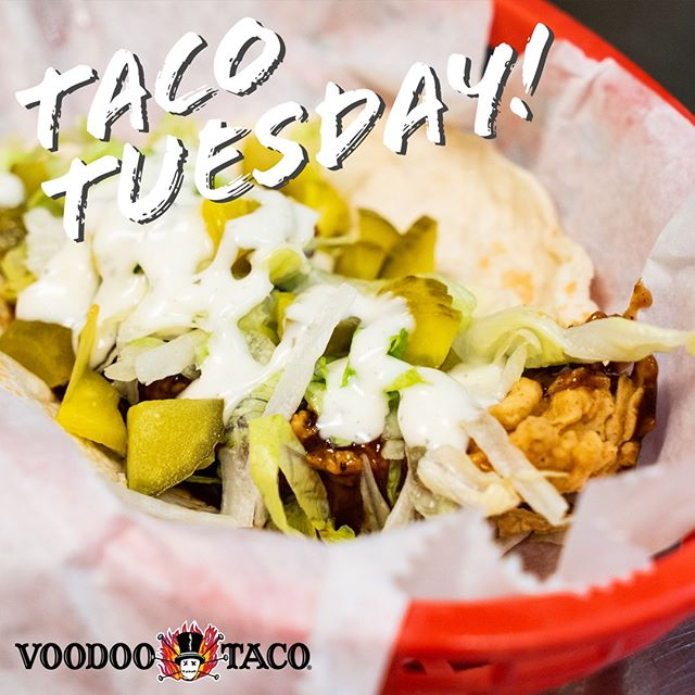 You think our tacos look delicious? They taste even better! Get $1 off for Taco Tuesday and make sure you get a beer or marg to wash it down!