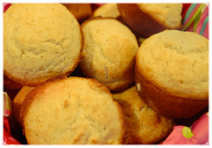 These are not our muffins. We were too busy weeping tears of joy while finally eating them.
