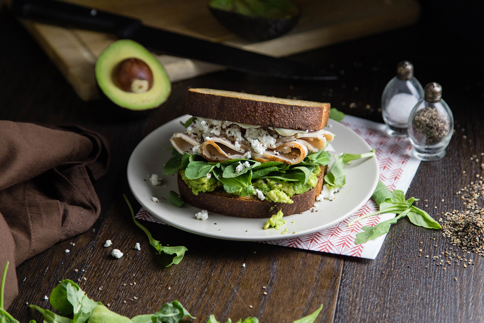 Turkey Avocado Sandwich | Specialty's Café & Bakery