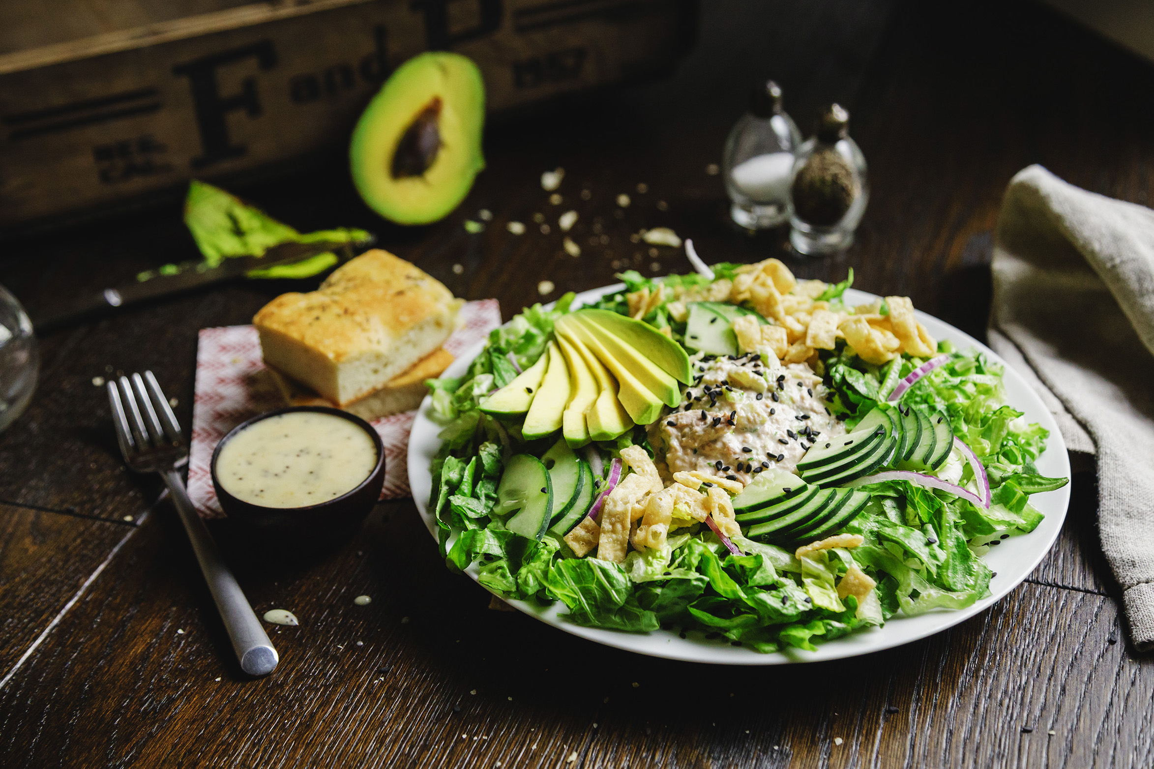 Good Fortuna Salad | Specialty's Café & Bakery
