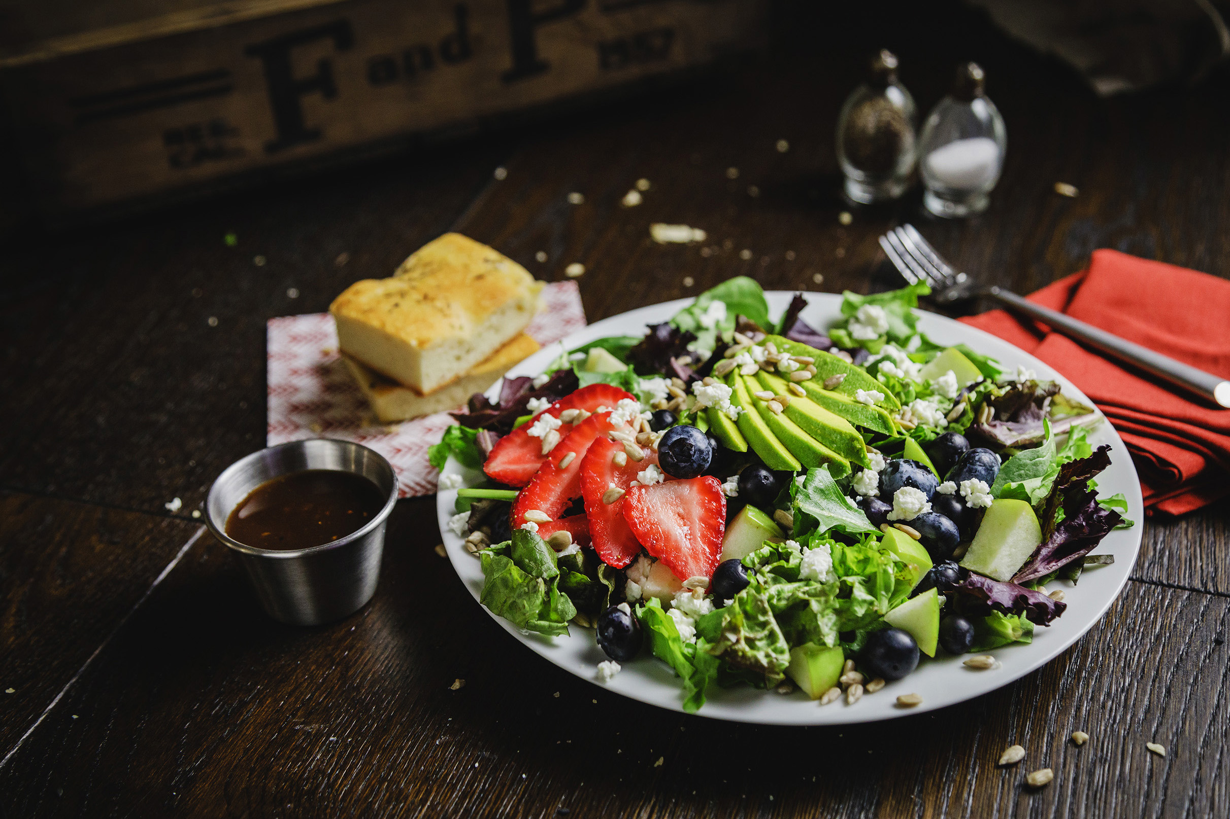 Balsamic, Berry & Avocado Salad | Specialty's Café & Bakery