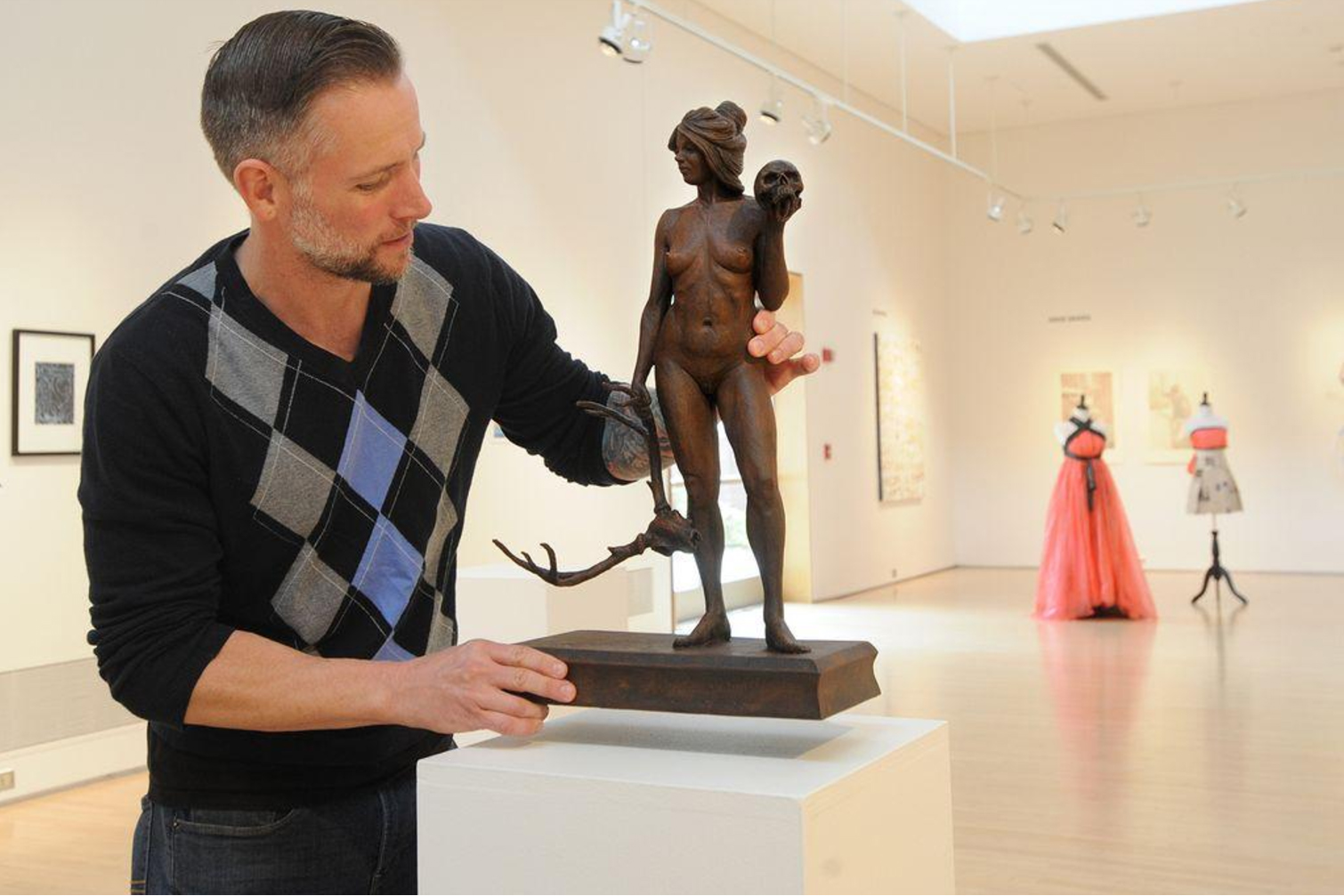BCC art faculty takes center stage at exhibit -
