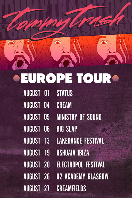 Tommy Trash, Europe Tour