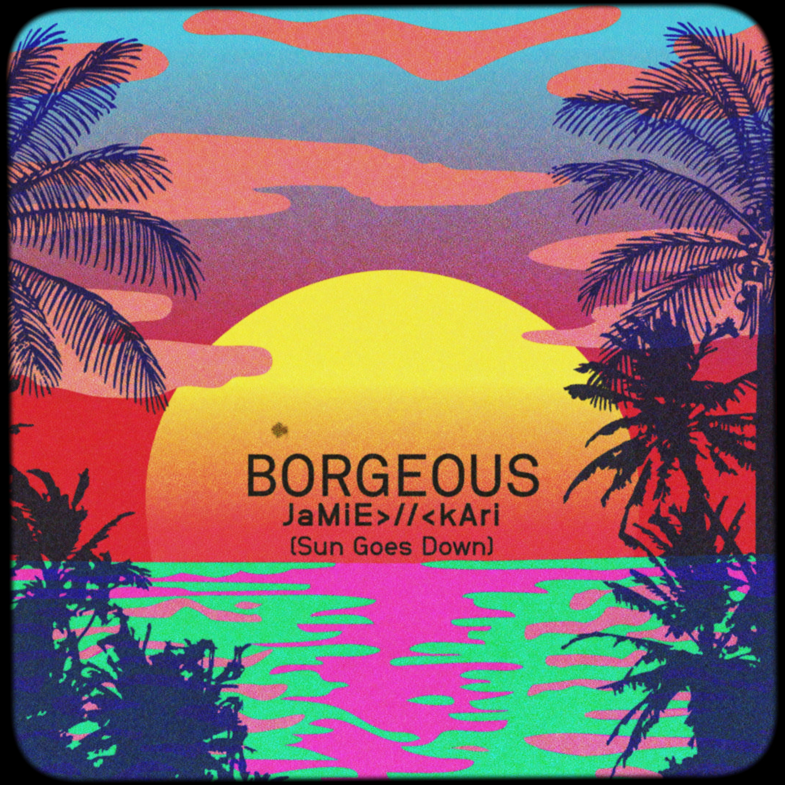 Borgeous, Sun Goes Down album art