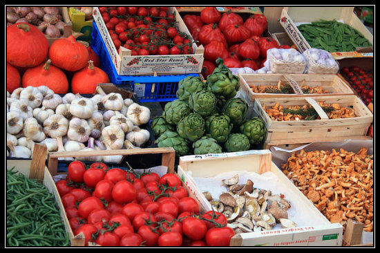 Choosing a variety of fruits and vegetables not only is good for your nutrition but it may also be protecting you from getting too much of a single type of pesticide.