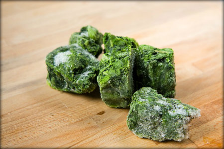 Have excess spinach? Learn how to freeze it  here .
