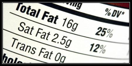 Avoid trans fats. Period