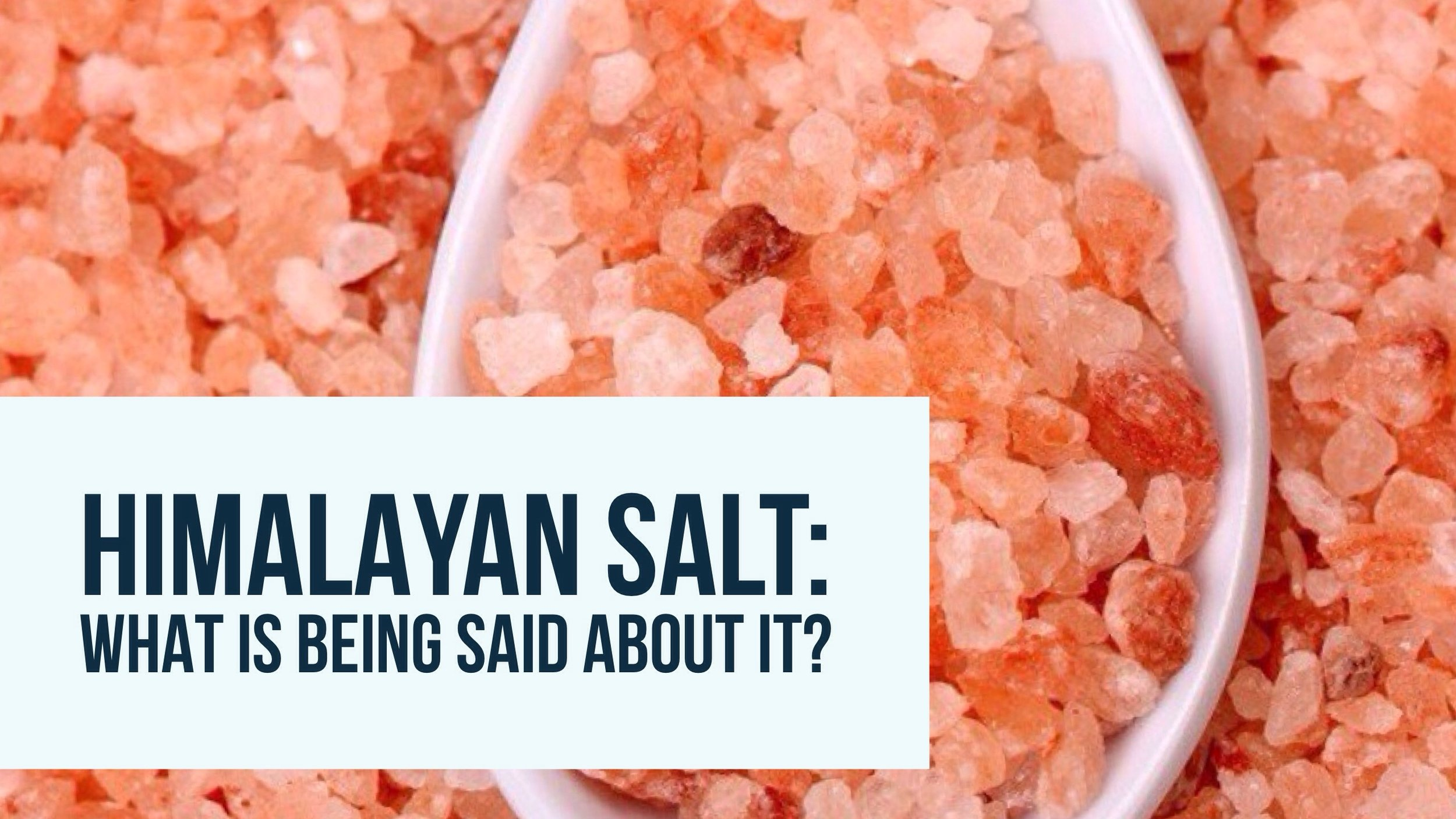Fact or Fiction: Himalayan Salt Edition — ThinkyBites