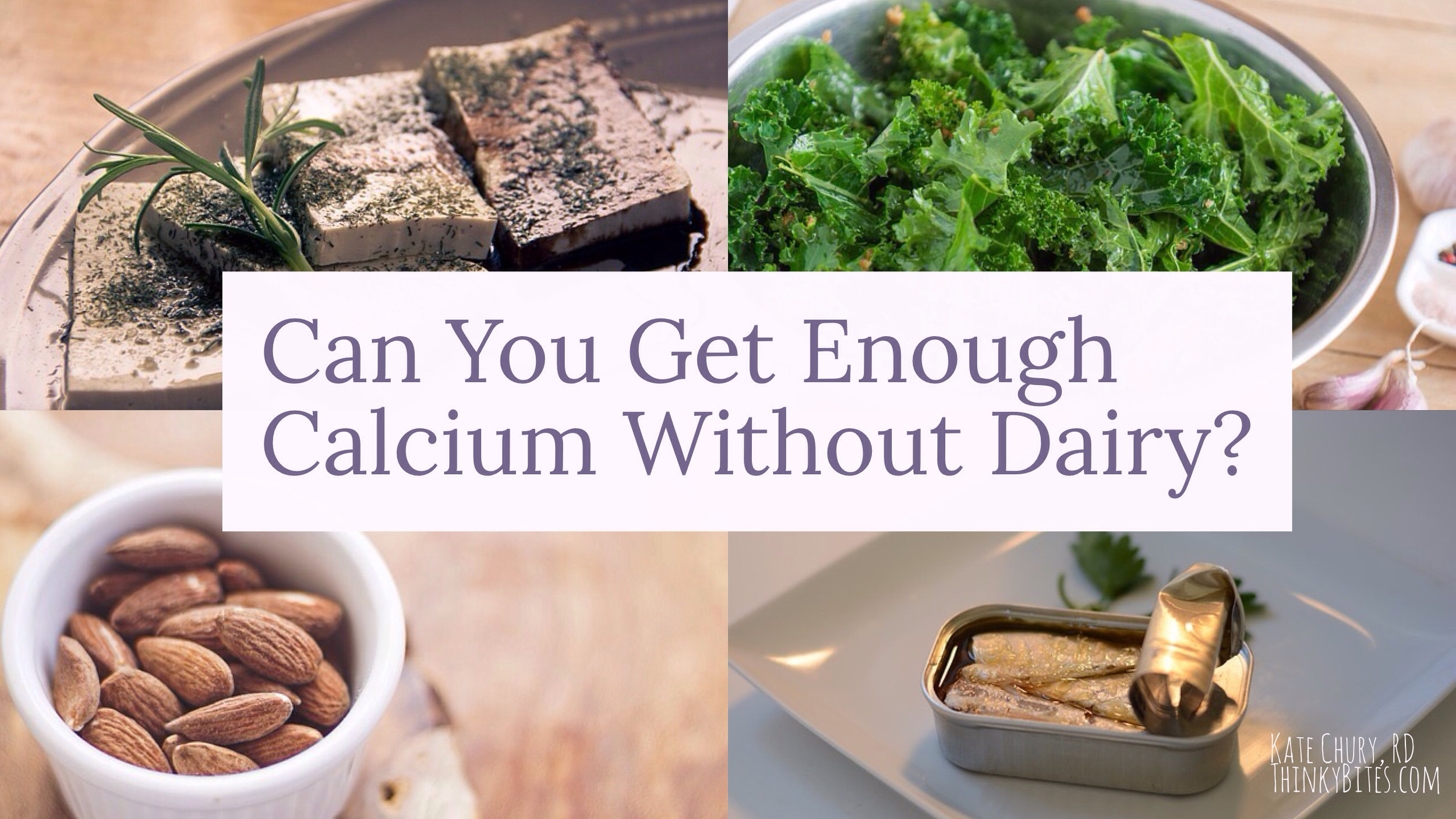 Can You Get Enough Calcium Without Dairy?