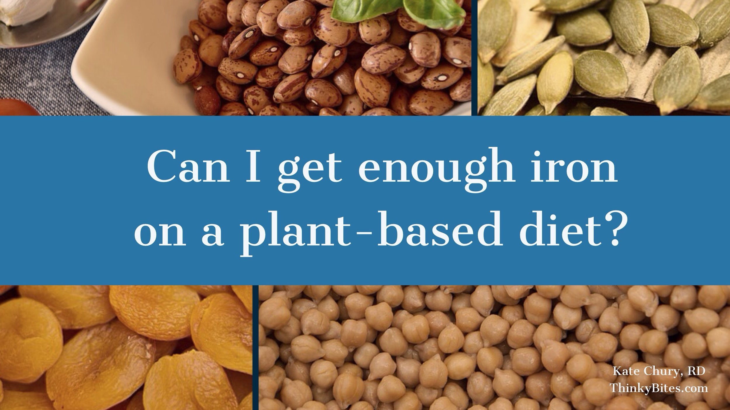 getting enough iron on a vegan diet
