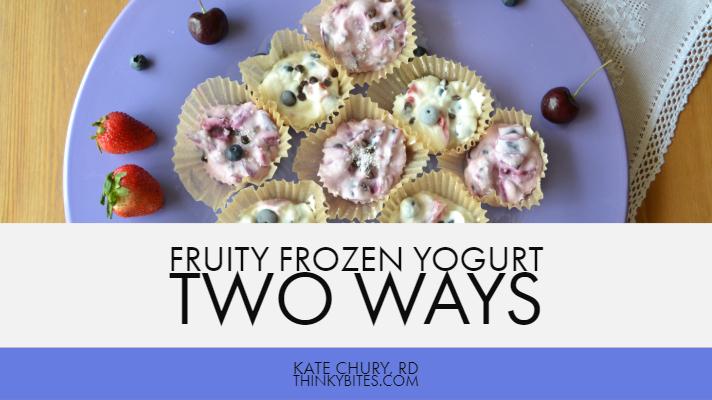 Kate Chury RD Calgary Dietitian Yogurt Treat