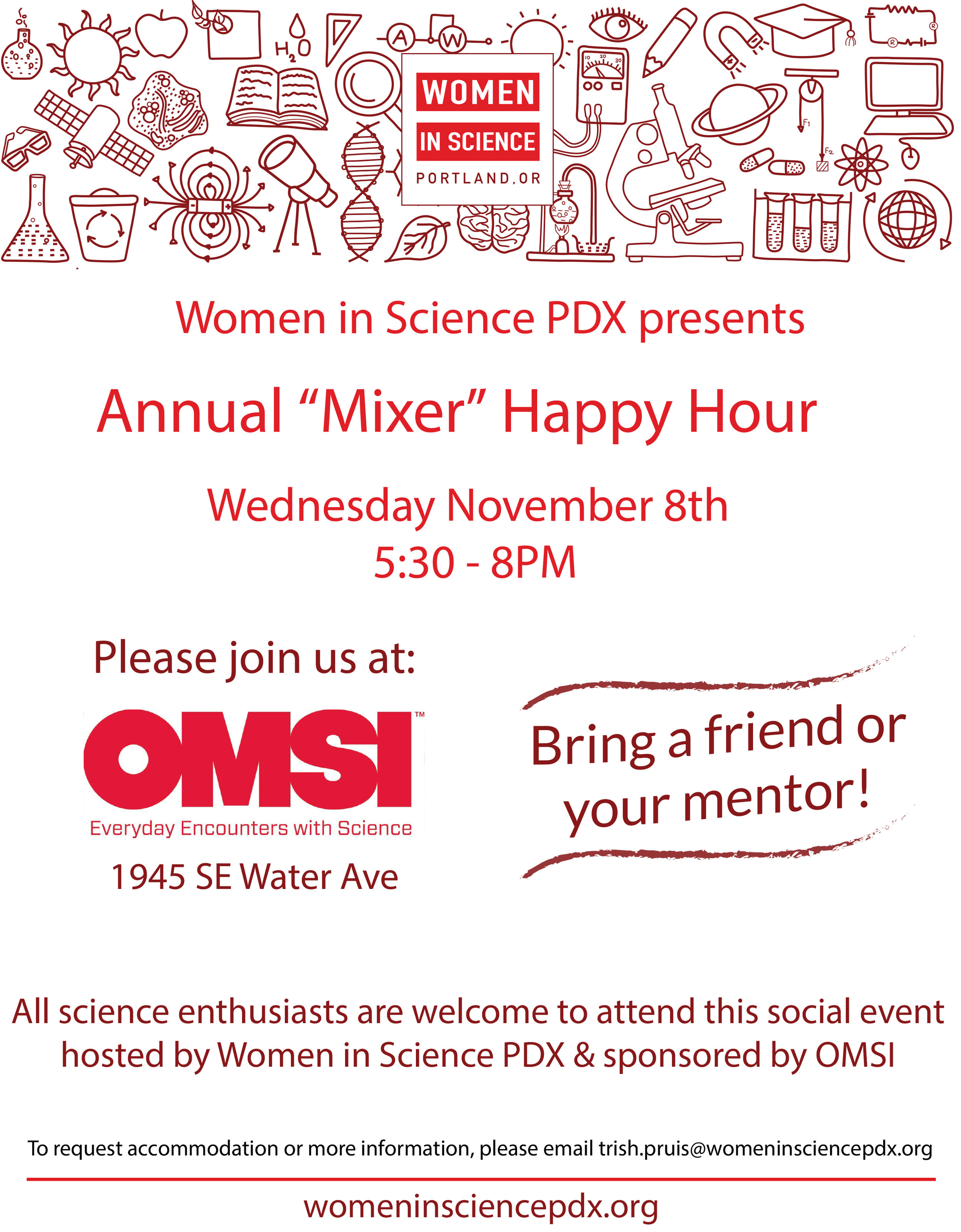 Women in Science PDX Annual Mixer 2017 11 08.jpg