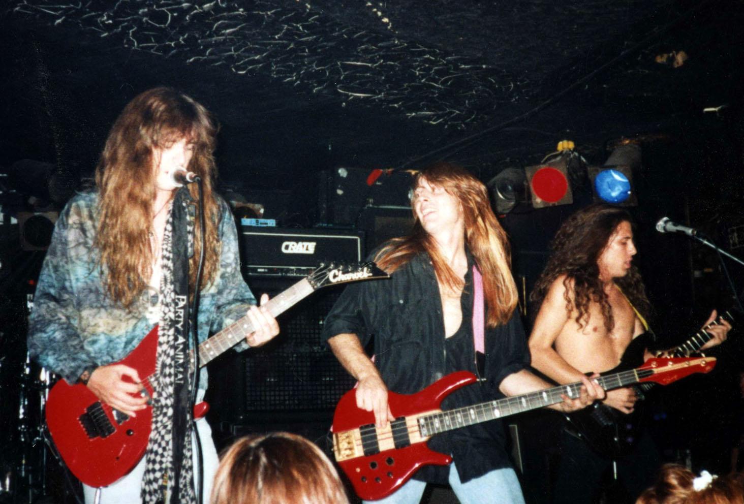 Dean Pressley, Jim Stuppy, and Will Hair