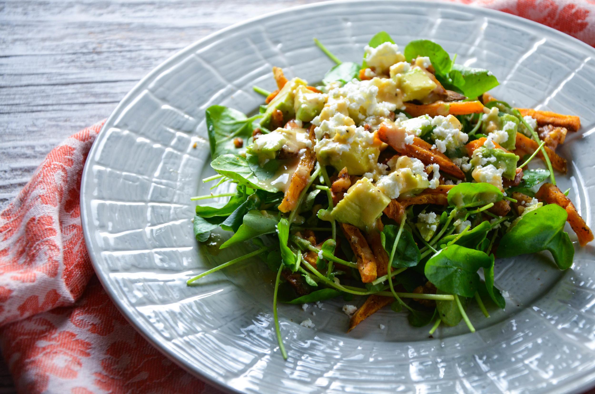 watercress salad 1