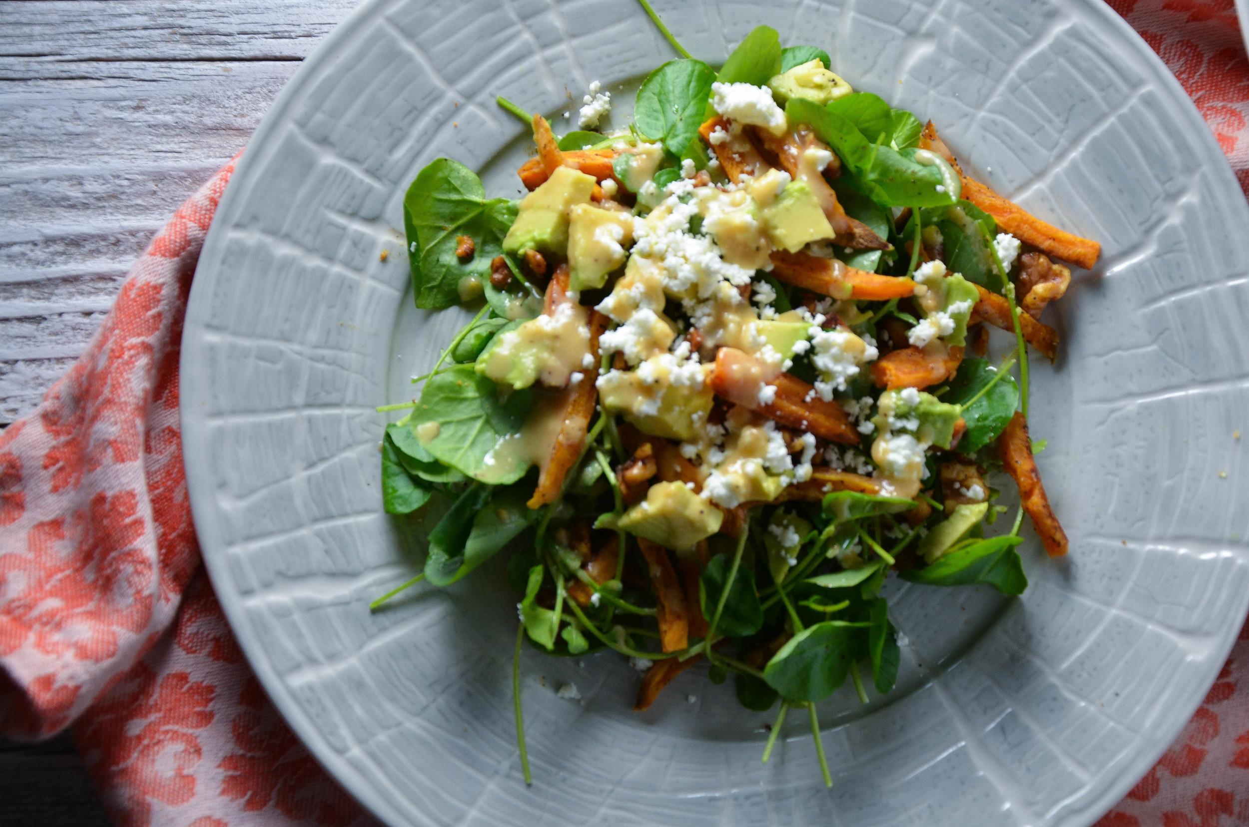 watercress salad 2