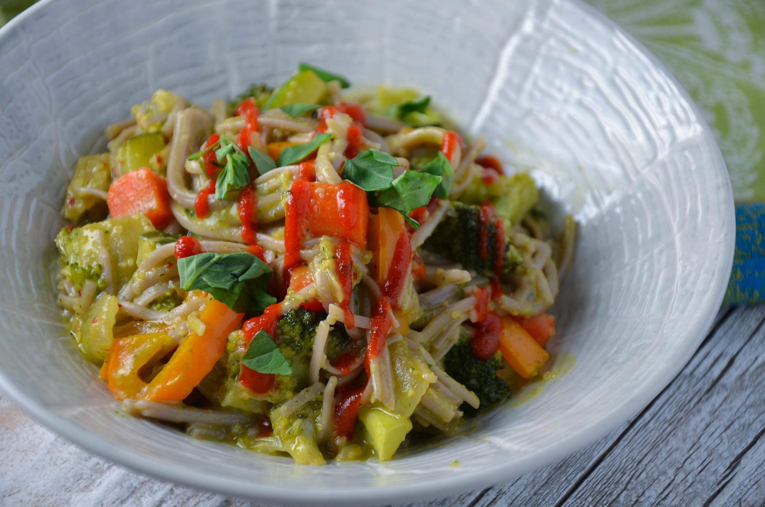 Thai Basil Pesto Stirfry