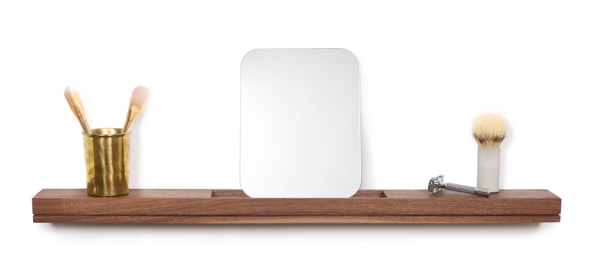 floating bathroom shelf - SINGULAR wall console