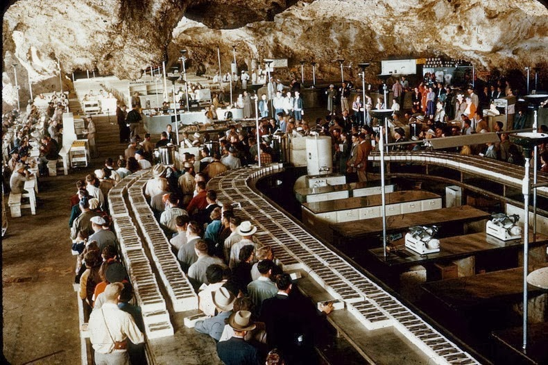 Carlsbad Caverns - Box Lunch Lines