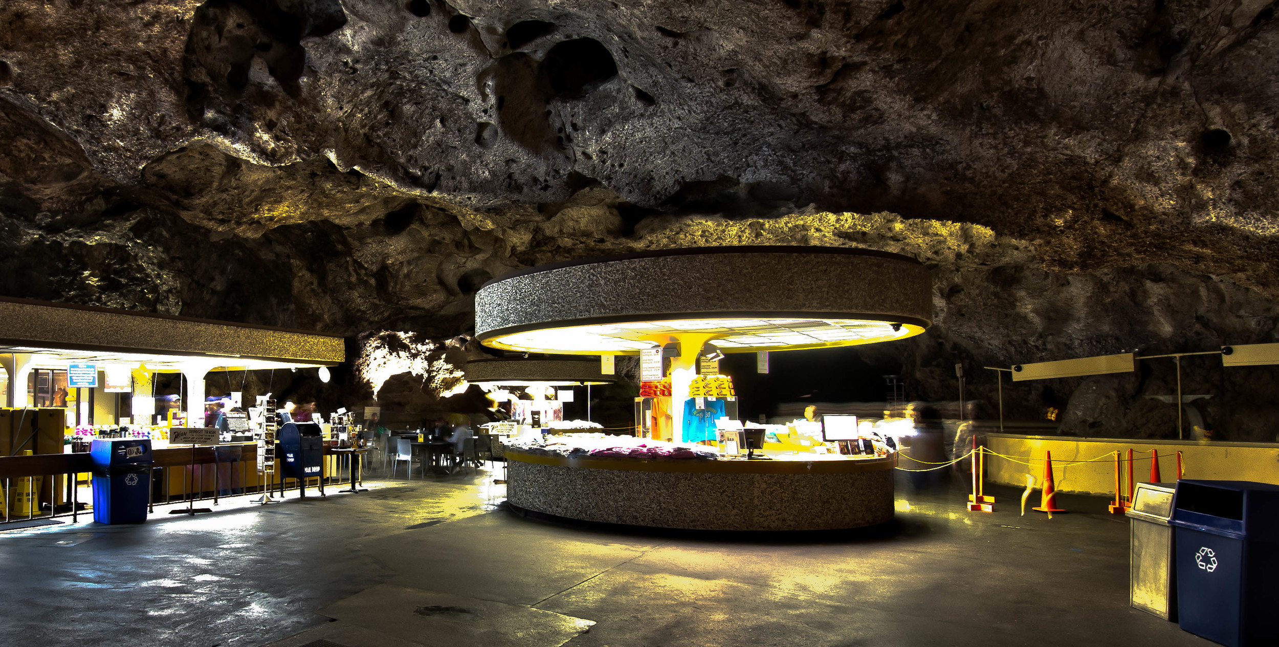 Carlsbad Caverns Lunchroom