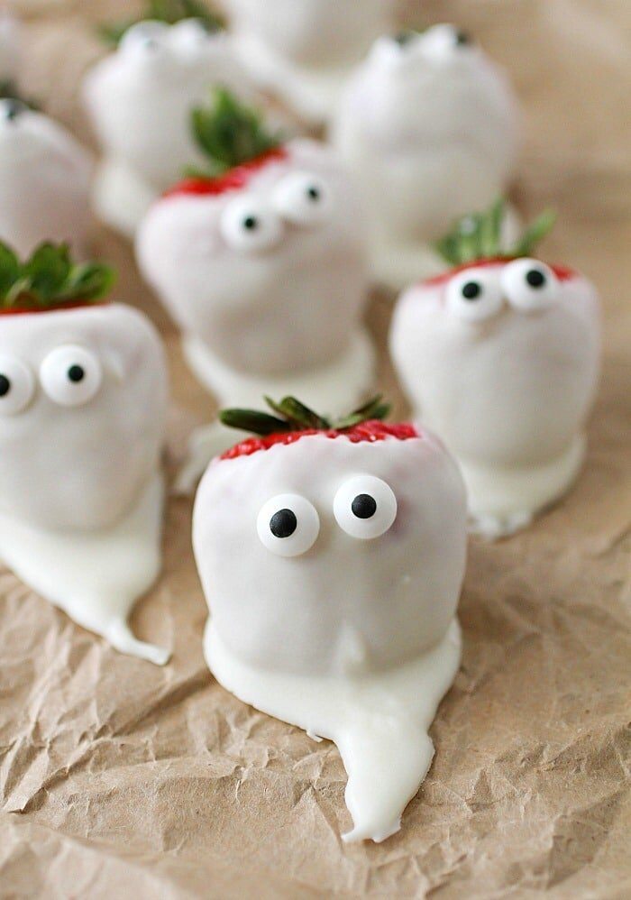 I've been looking for an excuse to get those little edible eyes and now I have on!