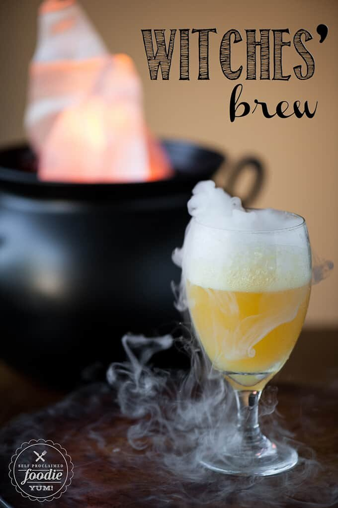 I don't really fuck with dry ice but this cocktail still sounds good!