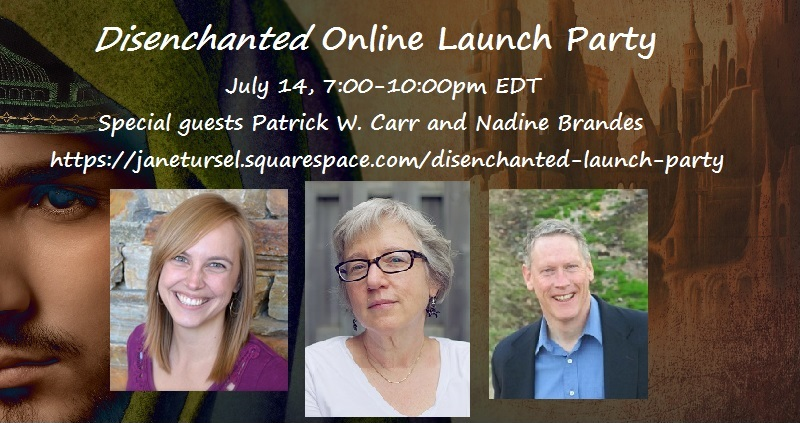 Disenchanted Online Launch Party