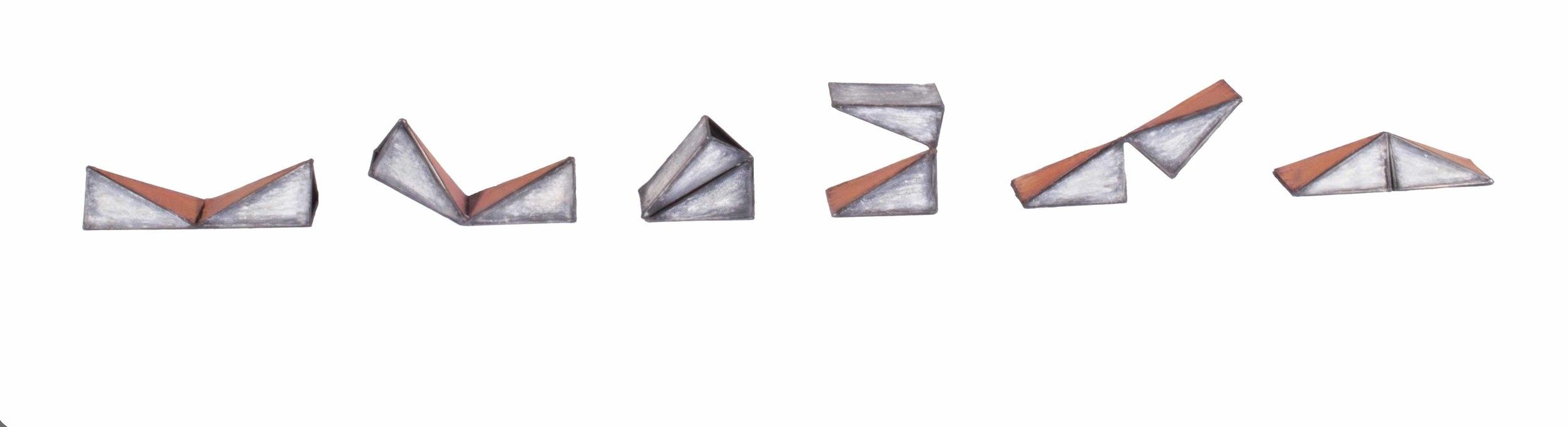 Triangular Folding small 1995
