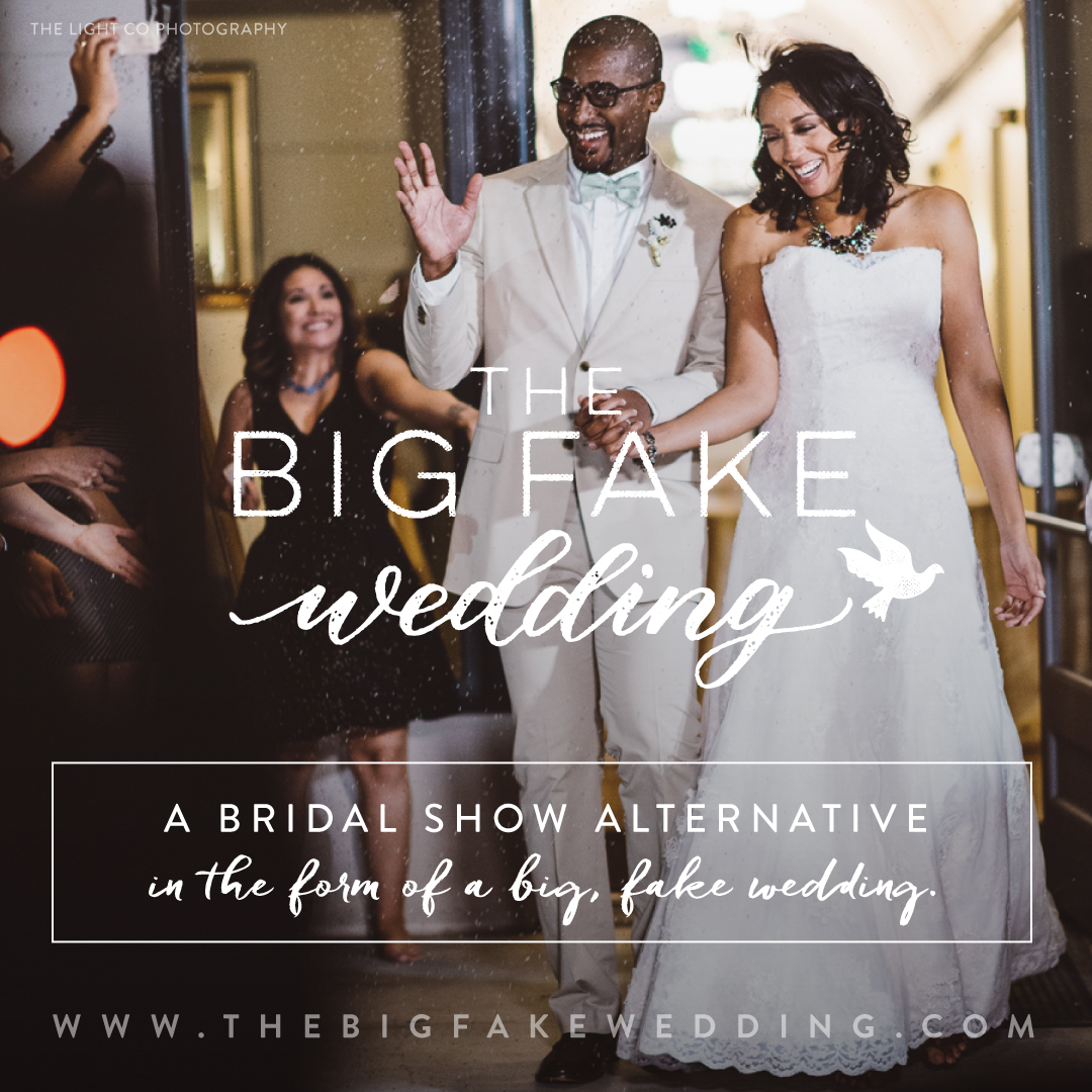 We are Hosting Seattle's Big fake wedding 2019! - click on the image above to get your tickets!