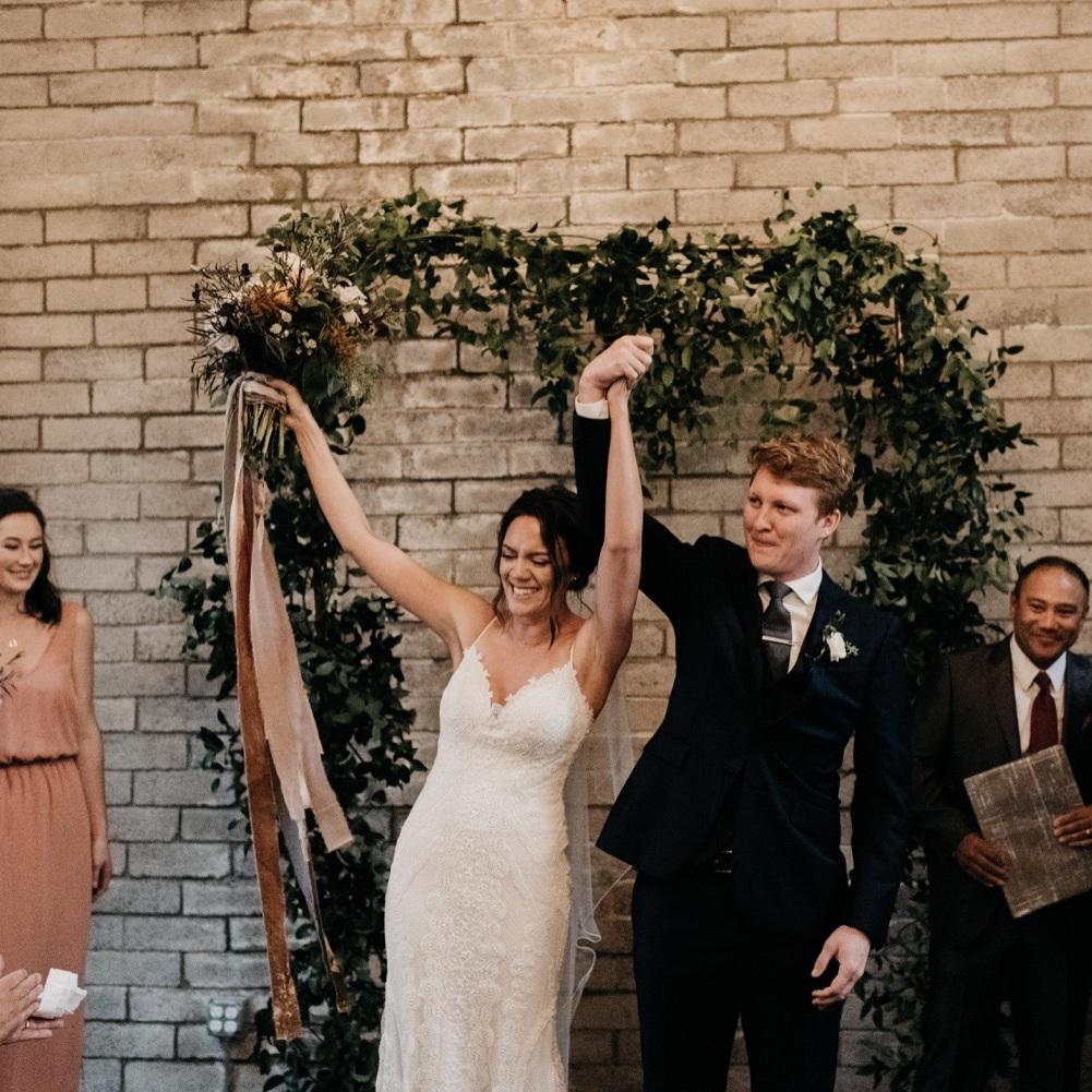 Carena + Garrett through the lens of laurken kendall - see their october wedding here