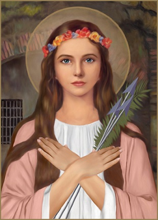 St. Philomena, pray for us.