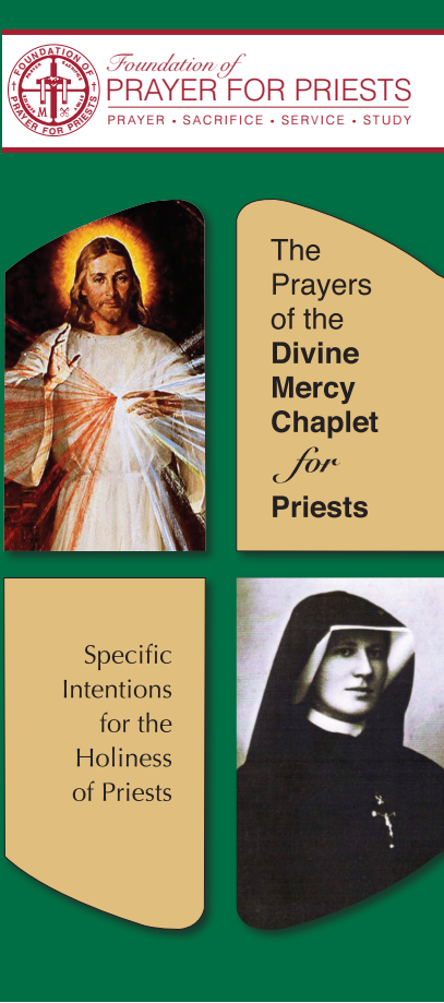 dOWNLOAD THE dIVINE mERCY cHAPLET FOR PRIESTS