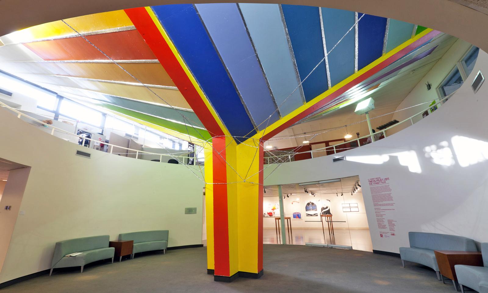 The Inverted Umbrella/Landscape: Breuer's Sunshine, Goose-style, 2011