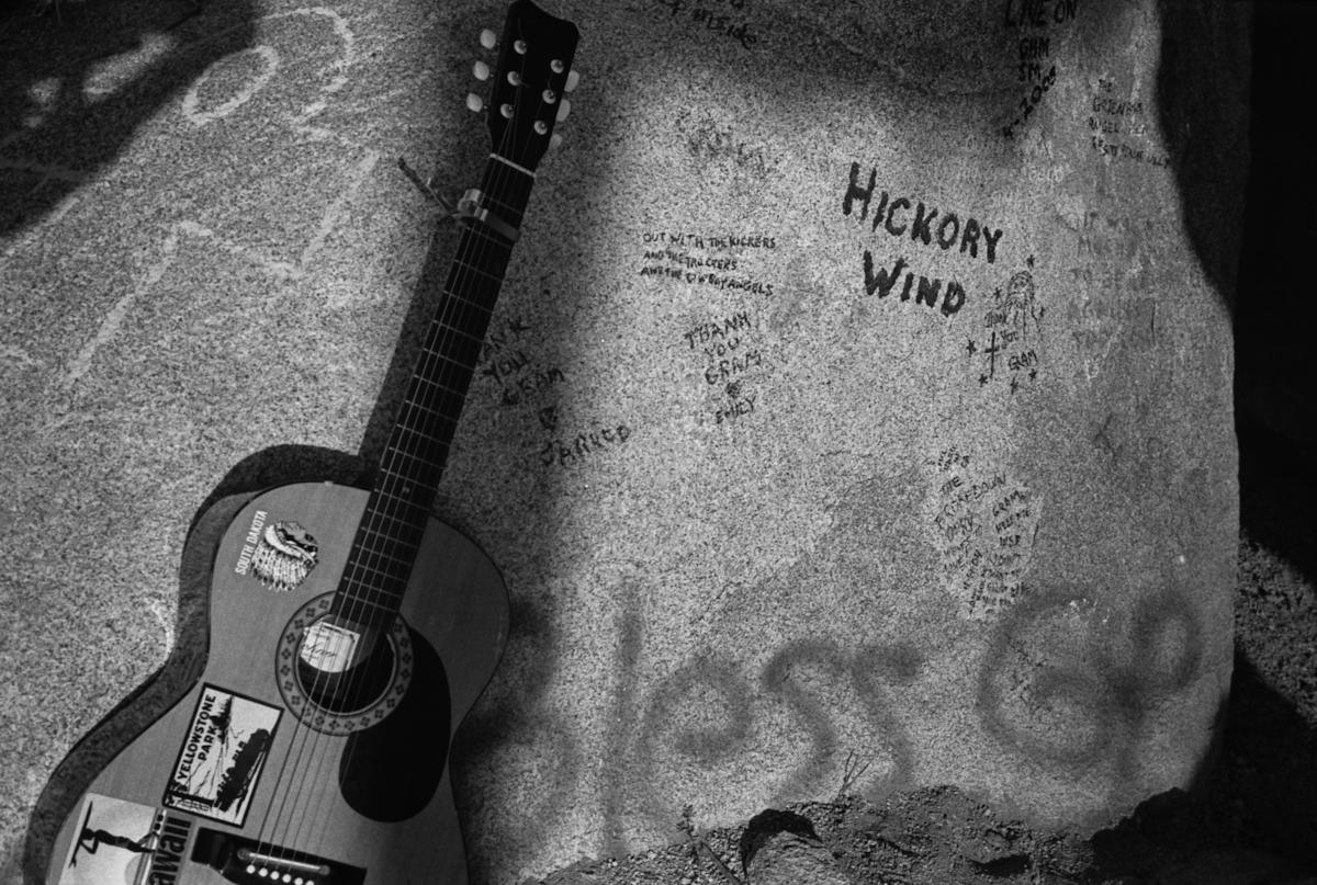 Cap Rock.  Gram Parsons Memorial