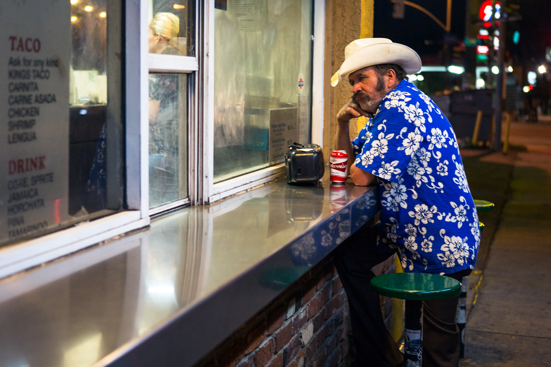 Budweiser at the Burrito King