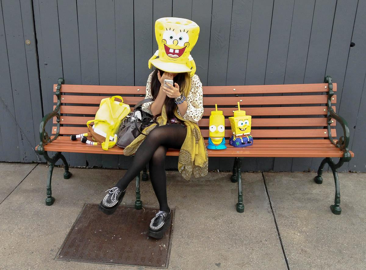 Spongebob squarepants fan