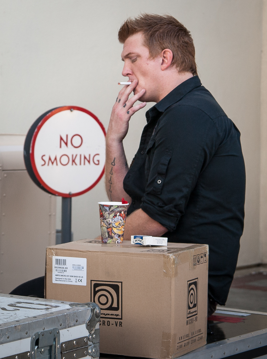 Josh Homme don't care