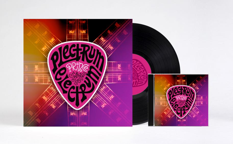 ALBUM ART SPEC - PLECTRUM ELECTRUM ART DIRECTION + DESIGN