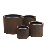 wide cylinder grc planters cast iron colour