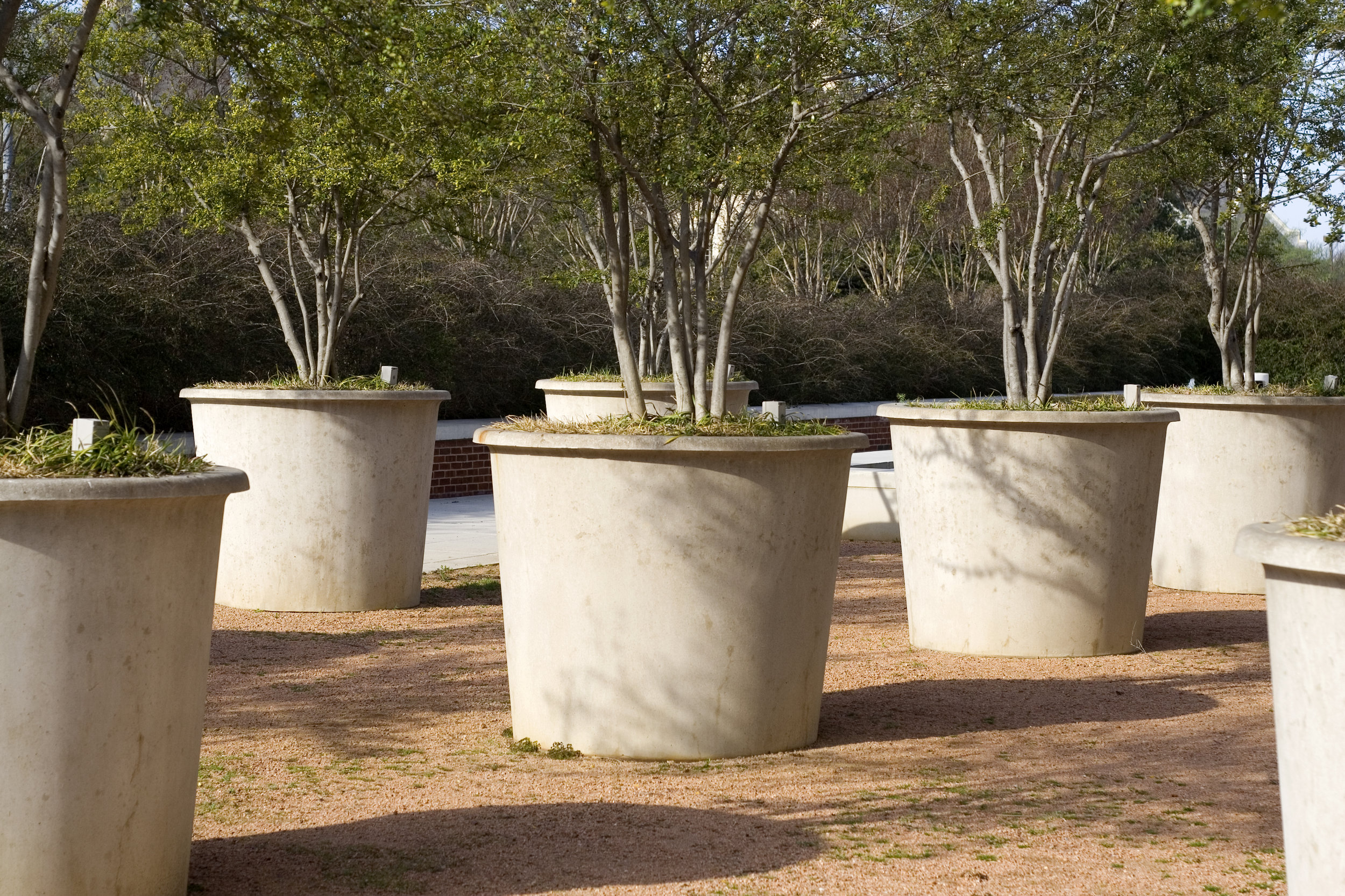 Commercial GRC Planter Boxes
